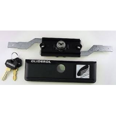Gliderol Lock Assembly & Faceplate With 2 Keys