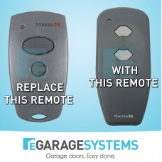 Marantec 2 Button Garage Door Remote - BHT302 - Replacement  BHT382 / D382