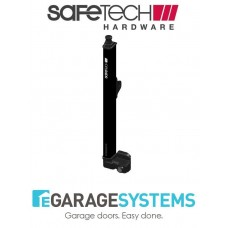 Safetech Magnetic Top Pull Latch Keyed & Fixed Tension Hinge Black - SL-50H-F90L