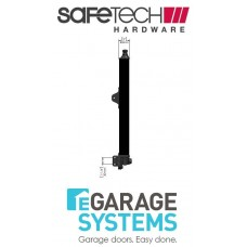 Safetech Magnetic Top Pull Latch Keyless Black Pool Gate Latch - SL-50K