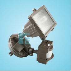 Chamberlain Sensor Light Bronze Halogen Head With 110° Sensor