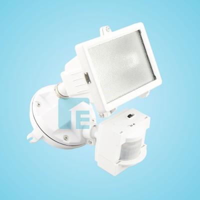 Chamberlain Sensor Light White Halogen Head With 110° Sensor