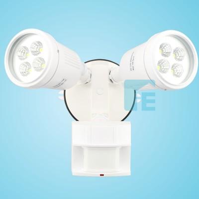 Chamberlain Sensor Light White LED Twin Head With 180° Sensor