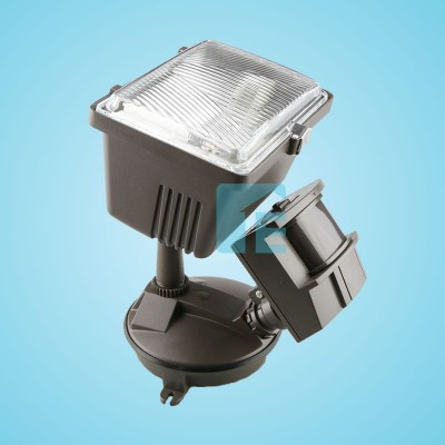Chamberlain Sensor Light Bronze Halogen Head With 180° Sensor