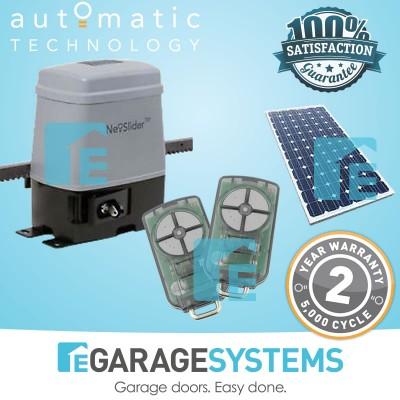 ATA Sliding Gate Motor NeoSlider Includes 4m Rack & SmartSolarTM