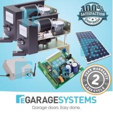 ATA Dual Leaf Swing Gate Kit SGO1v4 Elite + SmartSolar Kit
