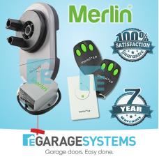 Merlin SilentDrive MR850EVO & Battery Back Up