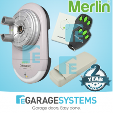 Merlin OverDrive MRC950EVO Light Commercial Motor & Keypad