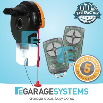 ATA GDO6v4 Gen2, SmartSolar 30W Solar Power Kit & Wireless Safety Beam System
