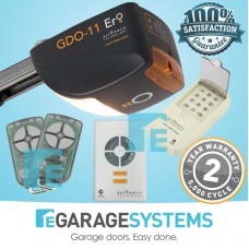 ATA GDO-11 Ero with Steel Chain C-Rail + Wireless Keypad