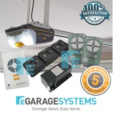 ATA GDO-9v2 Enduro Gen2 with Aluminium Chain C-Rail + Wireless Safety Beam System + Battery Back Up