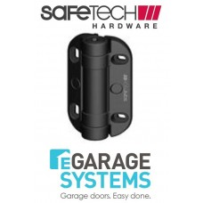 Safetech Heavy Duty Adjustable Tension Hinge With Legs Black Pair - SHH-135LS