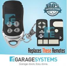 B&D 4333A 4335A Compatible Transmitter - Modern Black