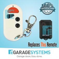 Boss BHT4 Compatible Transmitter - Waterproof White