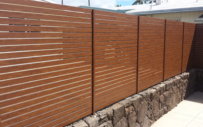 Aluminium Privacy Screens by Knotwood