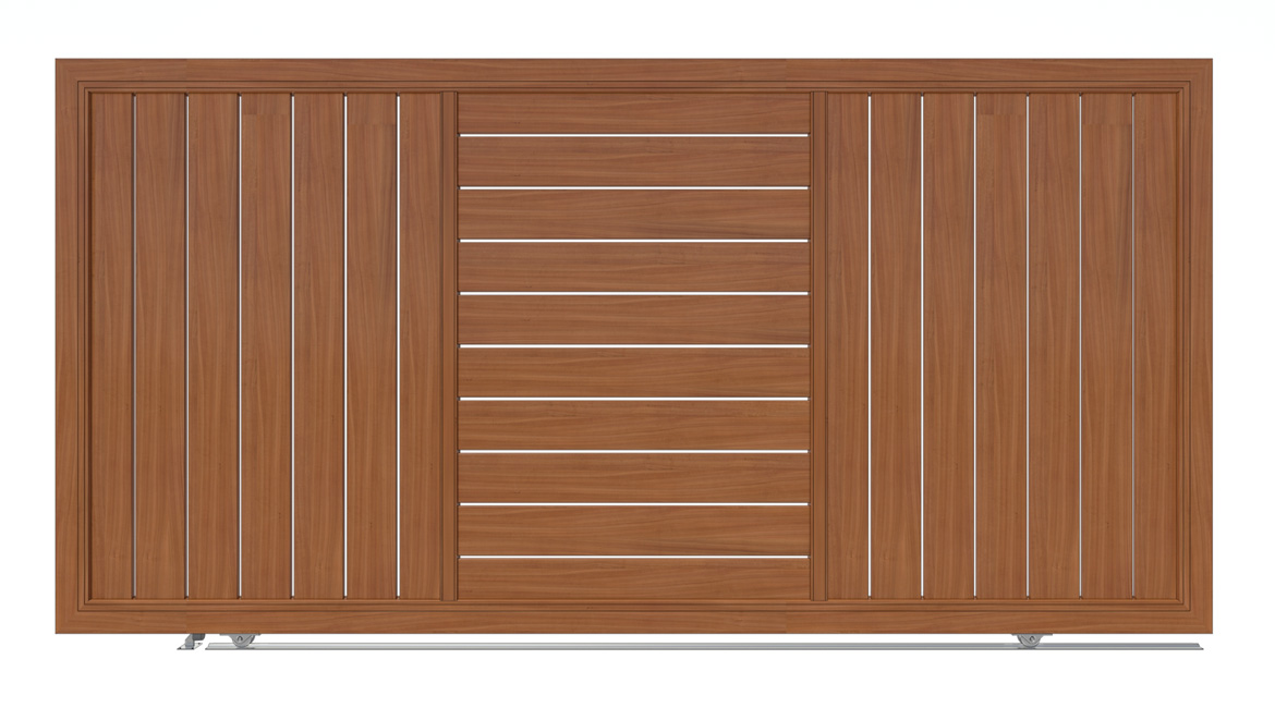 Aluminium Gates By Knotwood