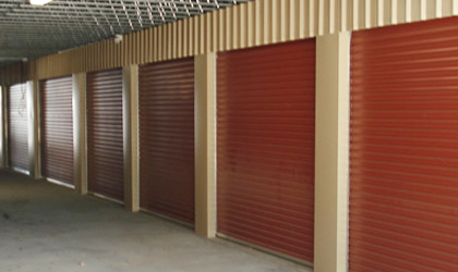 Taurean Mini Warehouse Roller Doors